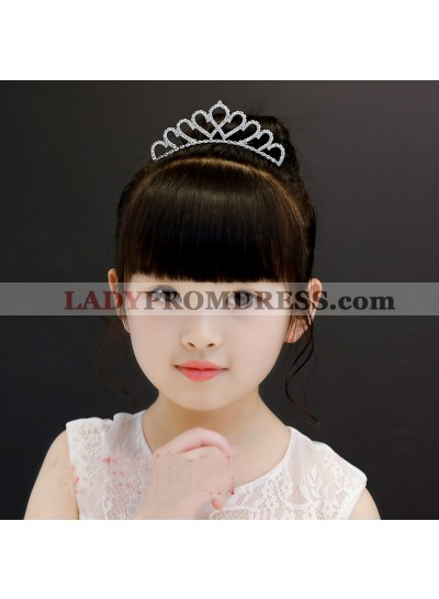 Princess Crown Girl's Crown First Communion Crown Cheap Girl's Headwear