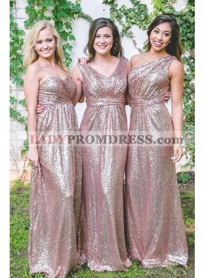 Sequence A Line Floor Length 2021 Long Bridesmaid Dresses