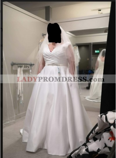 2021 New V-neck Wedding Dresses