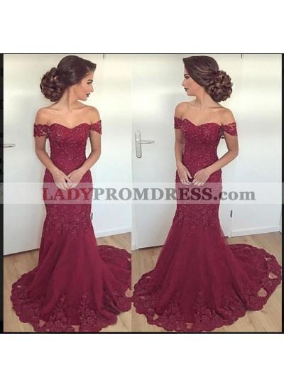 2021 New Designer Off The Shoulder Prom Dress