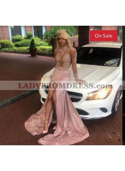2021 New Arrival Mermaid Dusty Rose Prom Dress