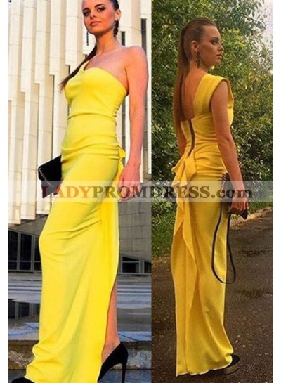 One-Shoulder Chiffon Prom Dresses