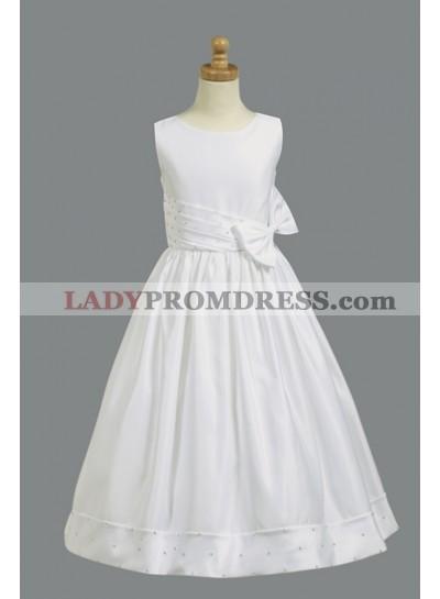2019 Absorbing Sequins Sleeveless Best Selling A-Line First Communion Dresses / Flower Girl Dress