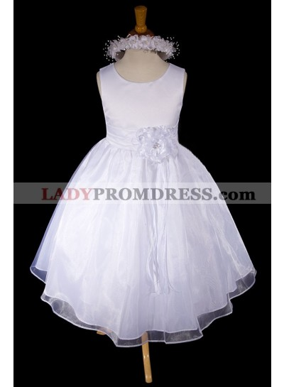 2019 Absorbing Sleeveless Scoop Neck Best Selling A-Line First Communion Dresses / Flower Girl Dress
