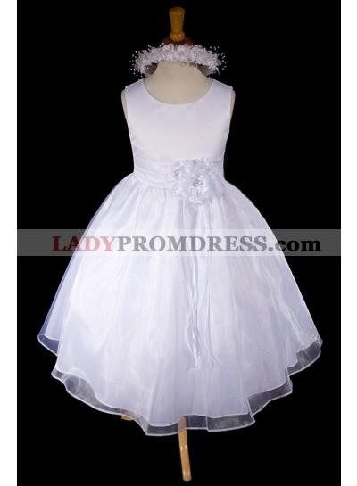 2020 Absorbing Sleeveless Scoop Neck Best Selling A-Line First Communion Dresses / Flower Girl Dress