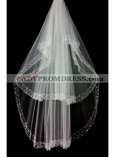 Great 2 Layers Wedding Veil