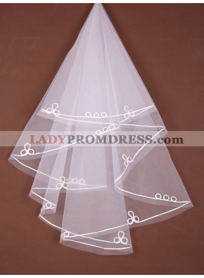 Nice 1 Layer Elbow Wedding Veil