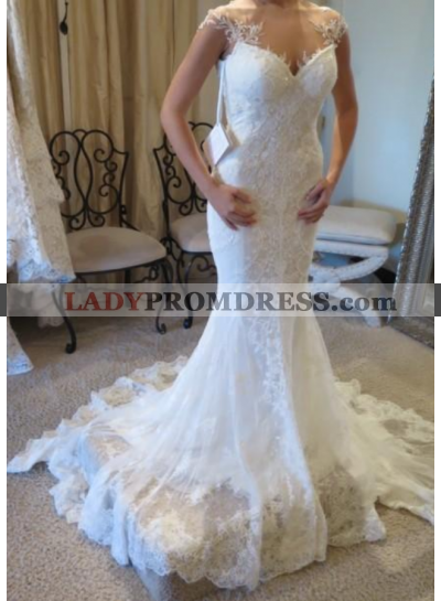 Mermaid Sweetheart Backless 2020 Lace Wedding Dresses