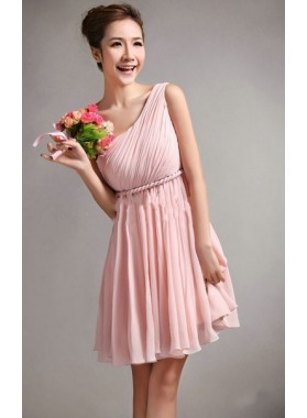 Entrancing Blush Pink Sweetheart Princess Ruffle Bridesmaid Dresses / Gowns Nottingham