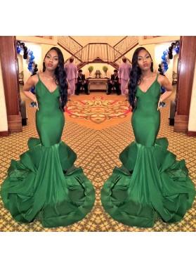 Hunter Mermaid Sweetheart Long Black Women's Prom Dresses
