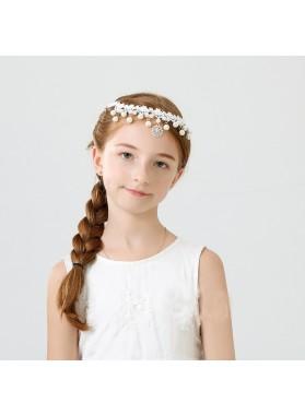 Forehead Chain Girl's First Communion Crown Cheap Girl's Headwear