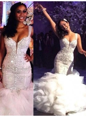 2021 Sweetheart Mermaid Wedding Dress