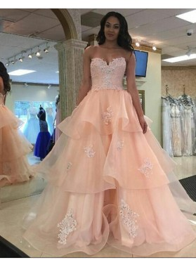 distinctive design hot-selling authentic Sales promotion The Best For Peach Prom Dresses 2019 - LadyPromDress.com