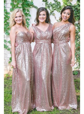 Sequence A Line Floor Length 2021 Long Bridesmaid Dresses