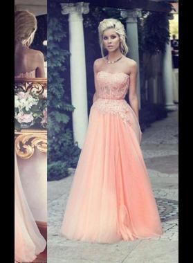 Beading Sweetheart A-Line/Princess Chiffon Prom Dresses