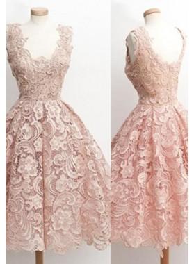 Floor-Length/Long Princess V-Neck Sleeveless Organza Prom Dresses