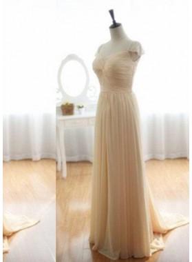 Prom Dresses Sleeveless Column/Sheath  Chiffon
