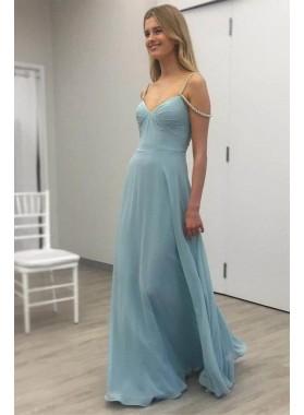 2019 Elegant Princess/A-Line Chiffon Sweetheart Prom Dresses