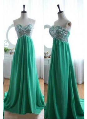 Beading Sweetheart A-Line/Princess Prom Dresses