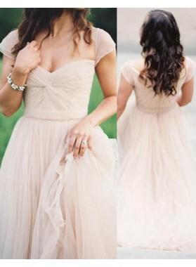 2019 Unique White Ruching Sweetheart A-Line/Princess Chiffon Prom Dresses