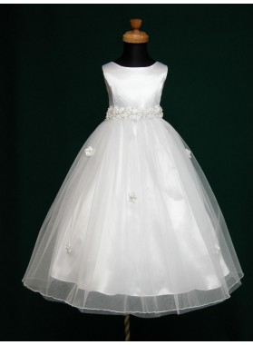 2020 Absorbing Best Selling Princess Cute First Communion Dresses / Flower Girl Dress