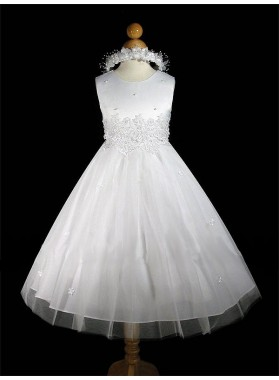 2020 Absorbing Best Selling A-Line First Communion Dresses / Flower Girl Dress