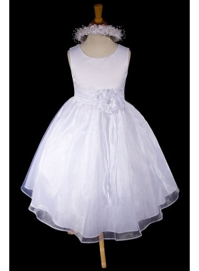2020 Absorbing Sleeveless Scoop Neck Best Selling A-Line First Communion Dresses / Flower Girl Dress