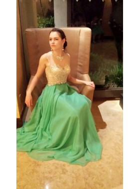 2019 Cheap Princess/A-Line Lime Green Sweetheart Prom Dresses