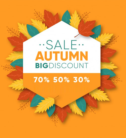 2020 Autumn Sale